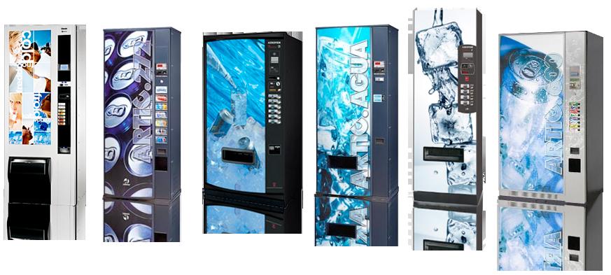 Máquinas expendedoras de bebidas frías