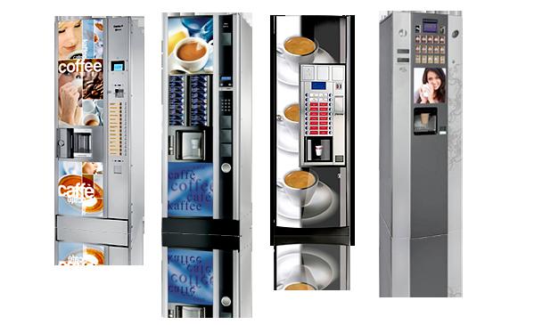 máquinas expendedoras bebidas calientes